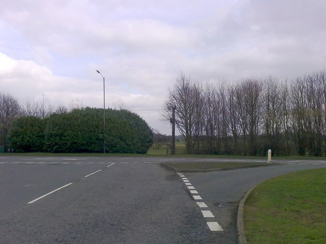 Junction of Burleigh Piece and A413, Buckingham