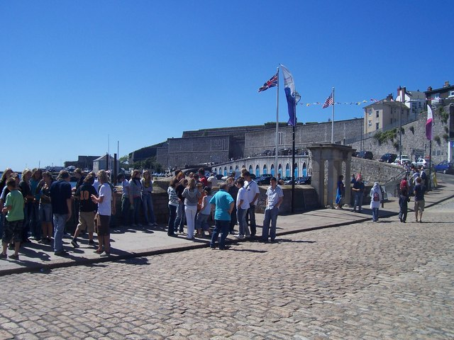 Plymouth : The Mayflower Steps