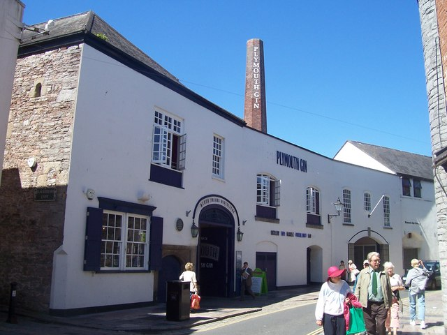 Plymouth : Plymouth Gin Distillery