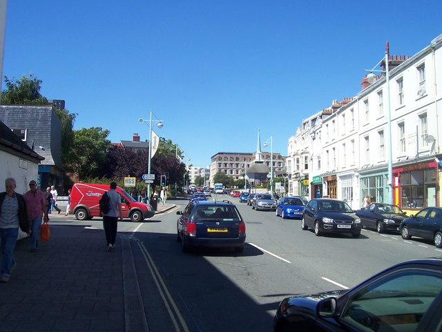 Plymouth : Notte Street & Vauxhall Street