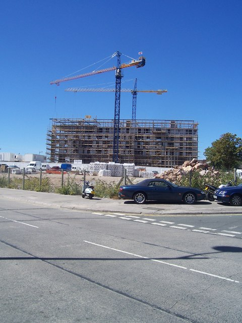 Plymouth : Construction Site