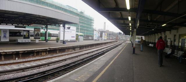 Southampton : Southampton Central Railway Station