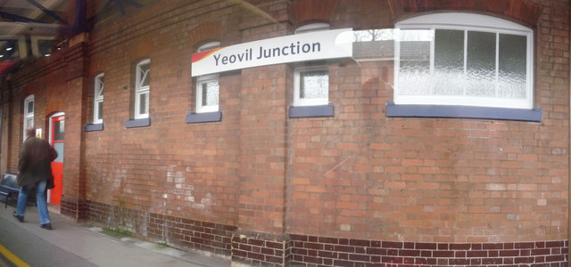 Yeovil : Yeovil Junction Railway Station