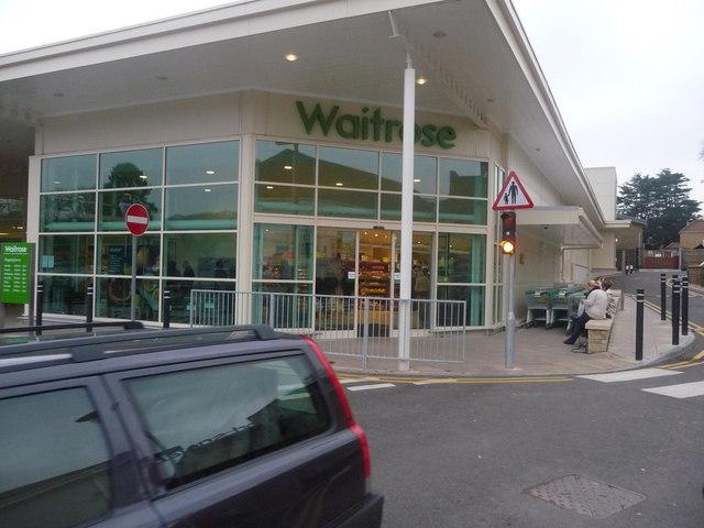Crewkerne : Waitrose Supermarket