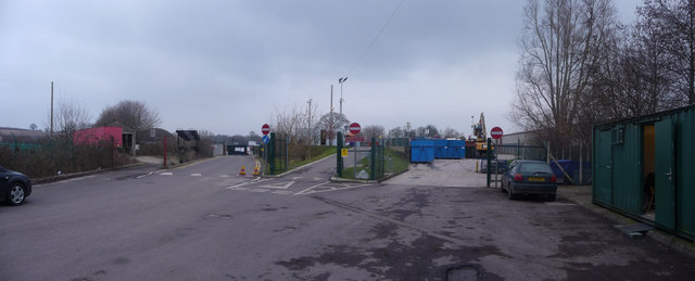 Crewkerne : Household Waste Recycling Centre