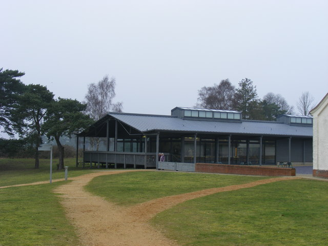 Visitors Cafeteria and Shop, Sutton Hoo