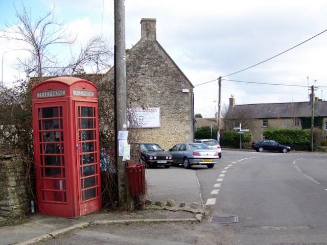 Telephone box, Trudoxhill