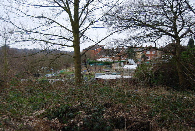 Barnetts Wood Allotments, Andrew Rd