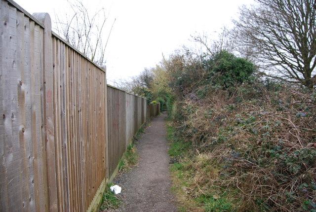 Footpath, High Brooms (2)