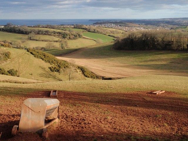 Field below Beacon Hill