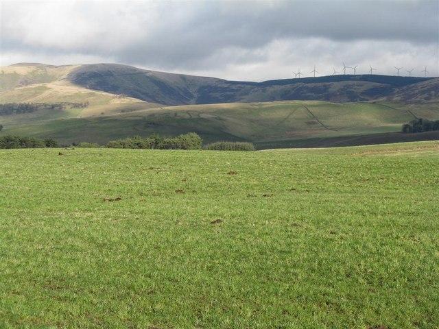 Farmland near Cringletie