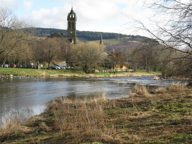 The River Tweed at Peebles