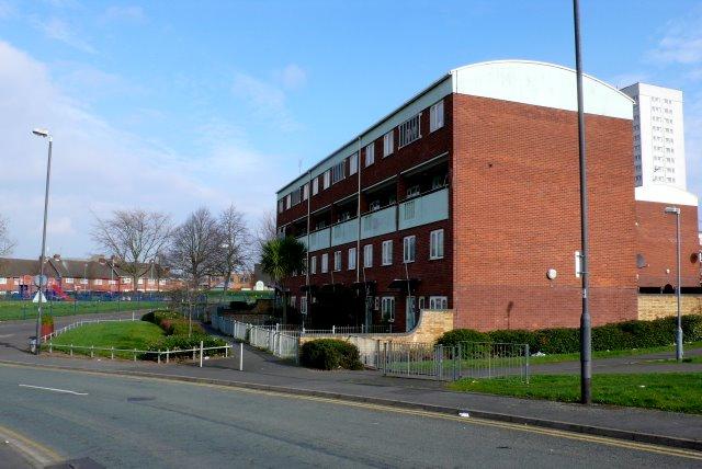 Block of Flats, Highgate Birmingham