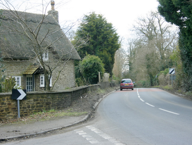 2009 : South on the A342 ...