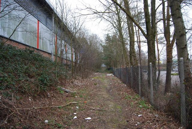 Footpath, North Farm Estate (2)