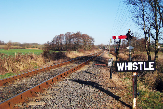 """Whistle"" Kent & East Sussex Railway"