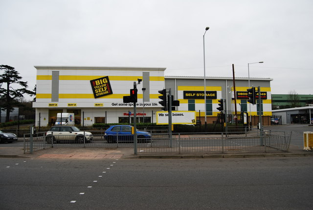 The Big Yellow Self Storage Warehouse, Longfield Rd, North Farm Estate