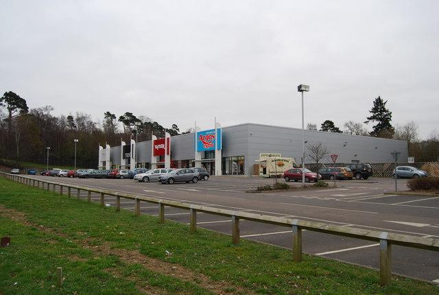 Retail Superstores, North Farm Estate