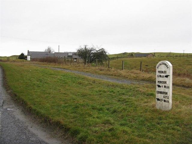 Craigburn, on the Edinburgh to Peebles Road