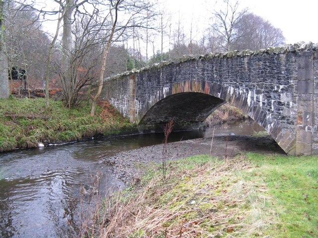 Bridge over the Eddleston Water