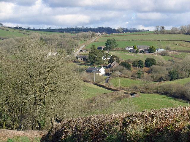 Abernant village