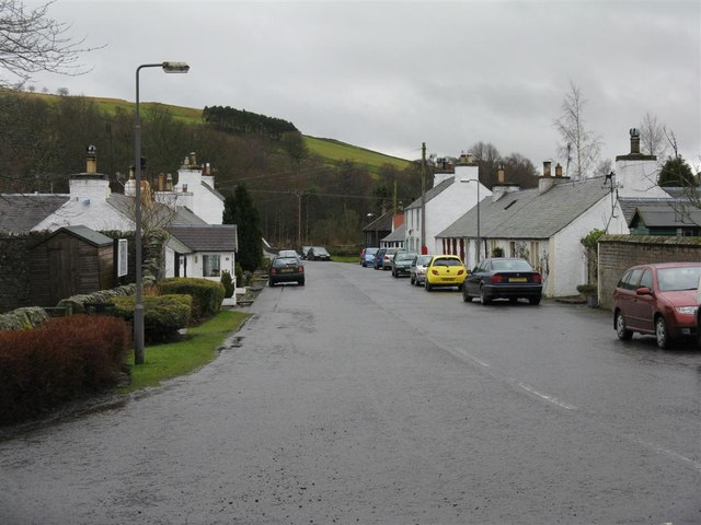 Station Road, Eddleston