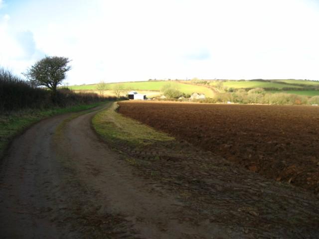 Footpath to Newton Farm