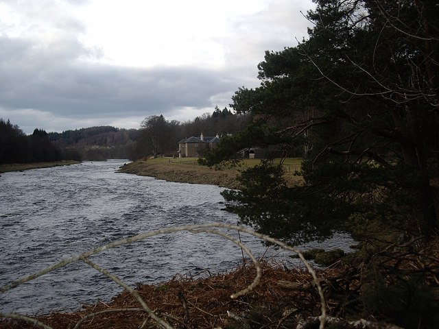 Upstream River Dee