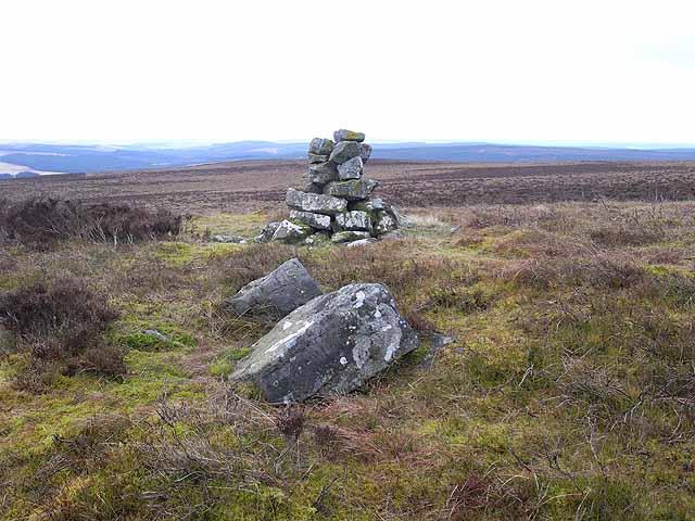 Cairn on Emblehope Moor
