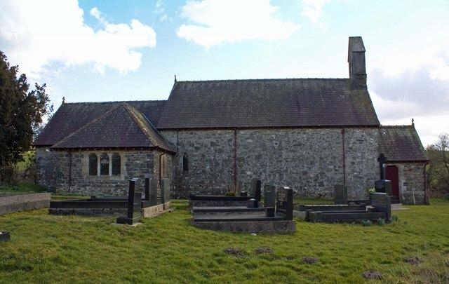 Parish church, Aber-nant