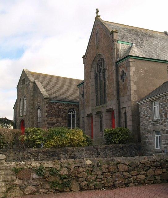 Illogan Highway Methodist Church and Church Hall