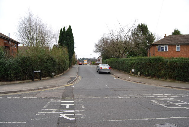 Friars Way, Birken Rd junction