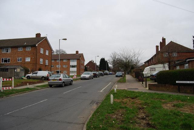 Blocks of Flats, Sherwood Rd