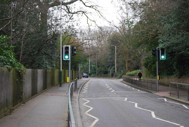 Pedestrian crossing, Ferndale