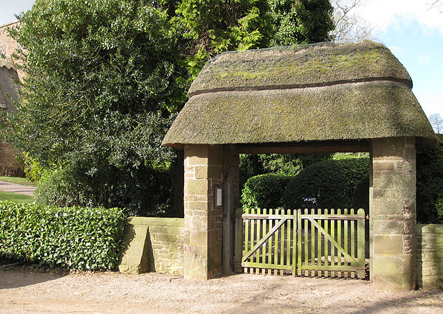 Lych gate, All Saints