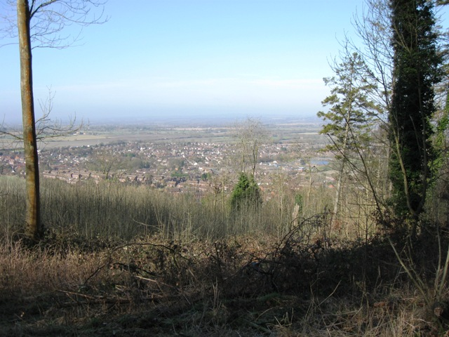 View toward Wendover from Boddington Hill