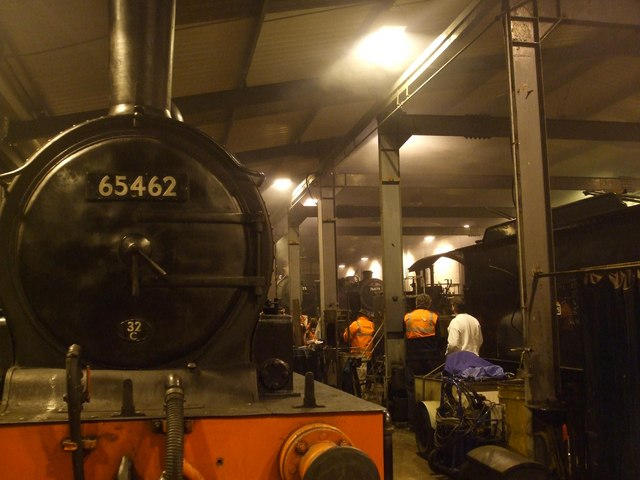 J15, 90775 and 76079 on shed