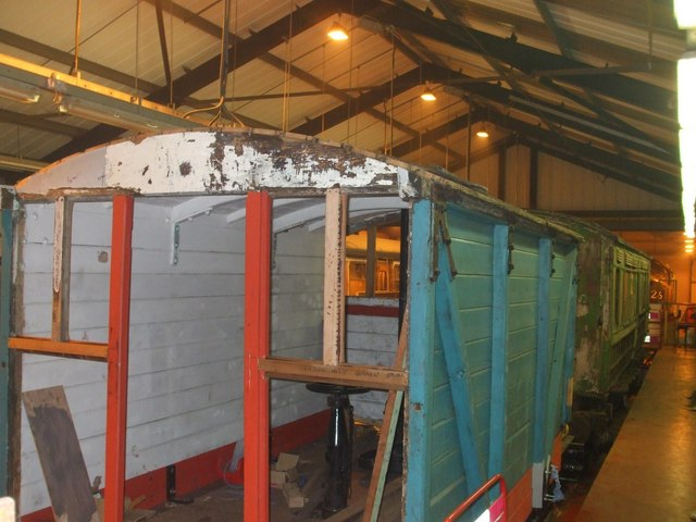 M&GN vehicles in the carriage sheds