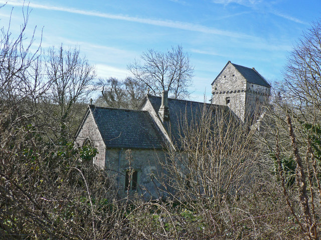St Michael's Church, Llanmihangel.