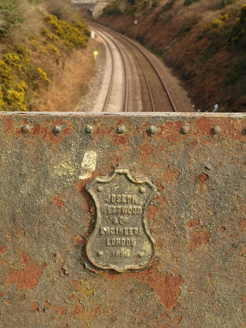 Maker's mark, bridge on Druid's Road