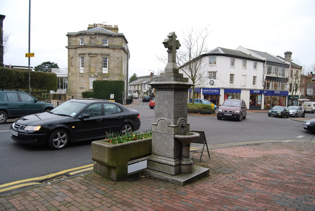 Fountain & water trough, Calverley Rd