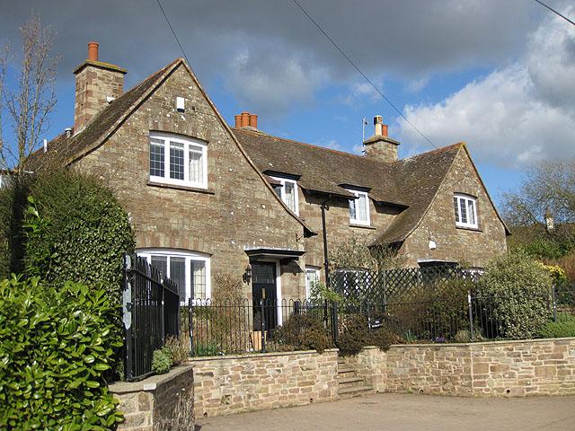 Solidly built cottages, Ladyridge