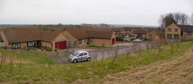 Crewkerne : Beechwood Drive & Bincombe Beeches Nature Reserve