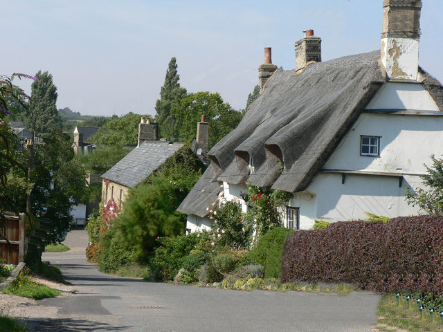 Church Lane, Elsworth.