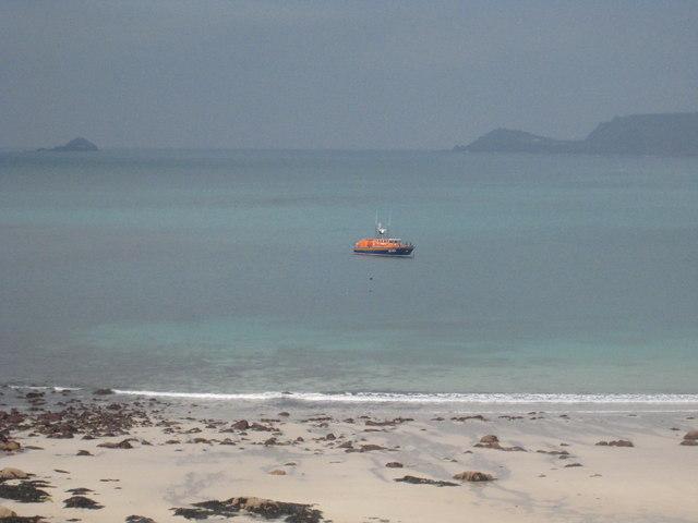 The Sennen lifeboat, 'Norman Salvesen'