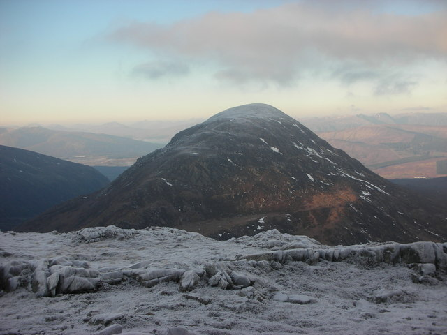 Looking back to Cruach Innse from Sgurr Innse