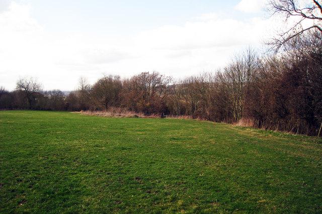 Footpath near Egerton House