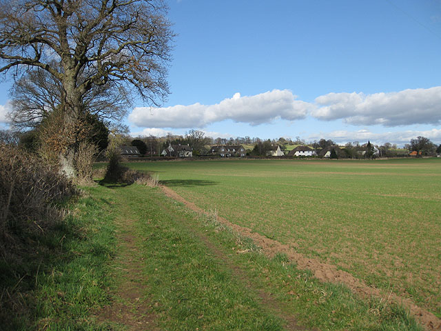Ladyridge from Brinkley Hill
