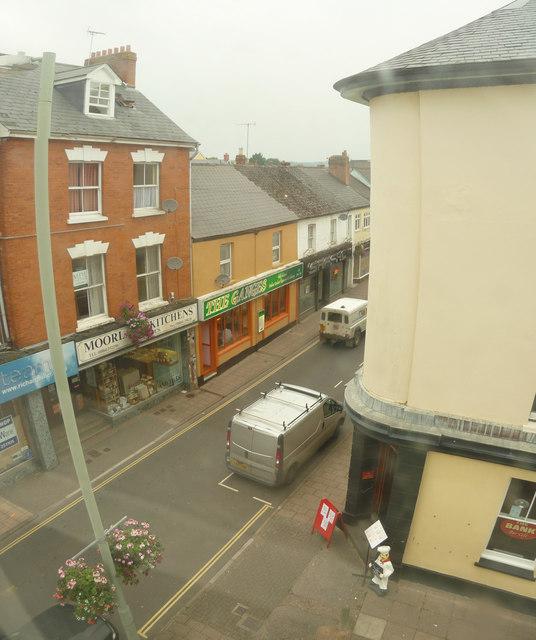 Tiverton : Bampton Street