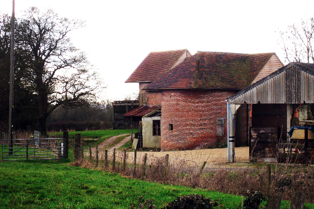 Unconverted Oast House at Stonehall Farm, Crumps Lane, Ulcombe, Kent